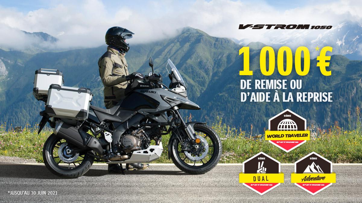 offre V-Strom1050 accessoirisés